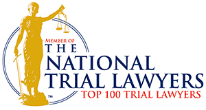The National Trial Lawyers Top 100 Member Badge